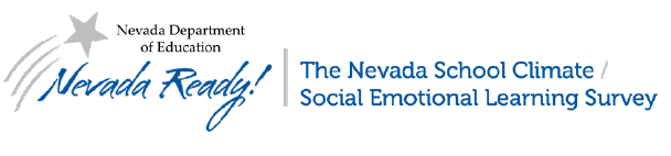 Nevada School Climate Survey Logo